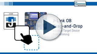 SEGGER - Video Thumbnail Drag and Drop Programming with J-Link OB