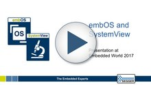SEGGR - Video Thumbnail embOS SystemView