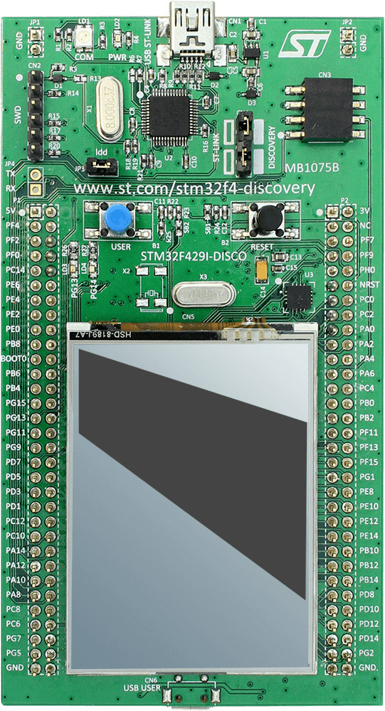 ST STM32F429I-Discovery | SEGGER - The Embedded Experts