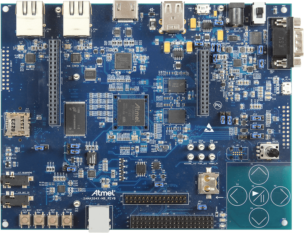 Atmel SAMA5D4x-MB | SEGGER - The Embedded Experts