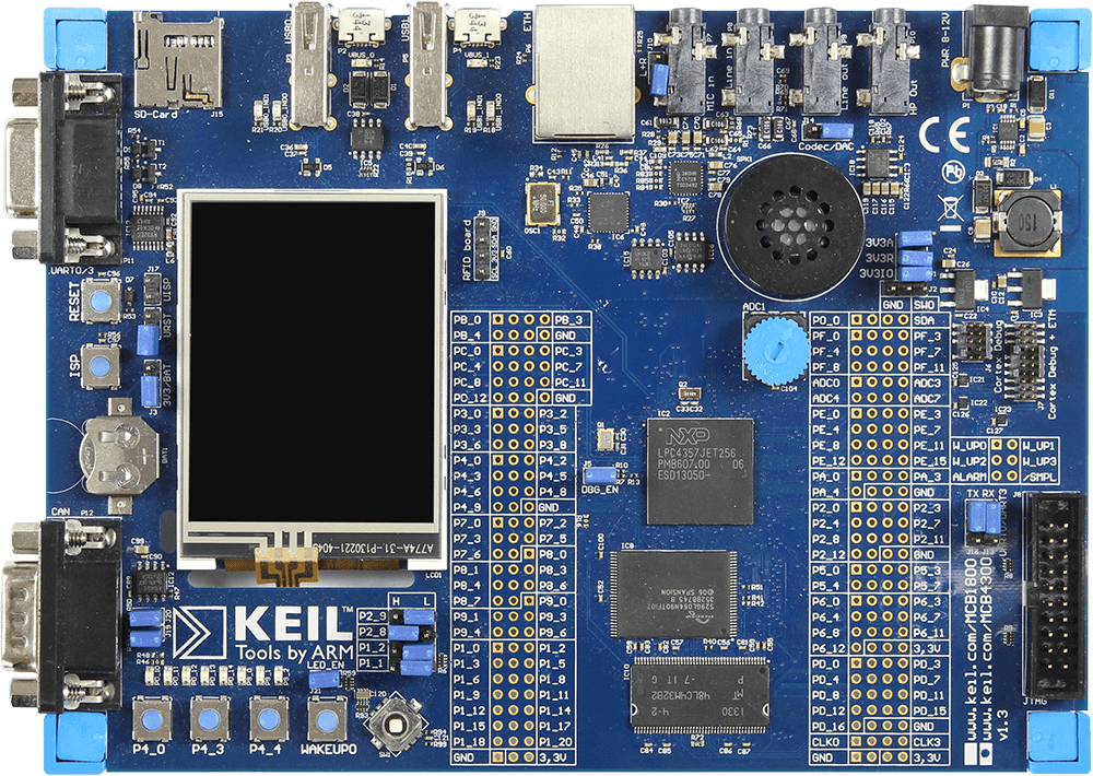 Keil MCB4300 | SEGGER - The Embedded Experts