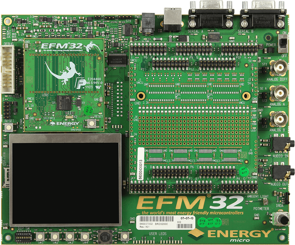 Silicon Labs EFM32 Gecko DK | SEGGER - The Embedded Experts
