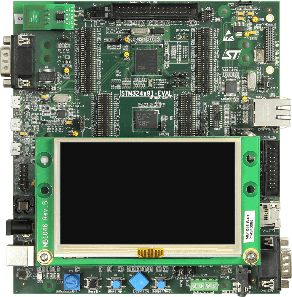 ST STM324x9I-EVAL | SEGGER - The Embedded Experts