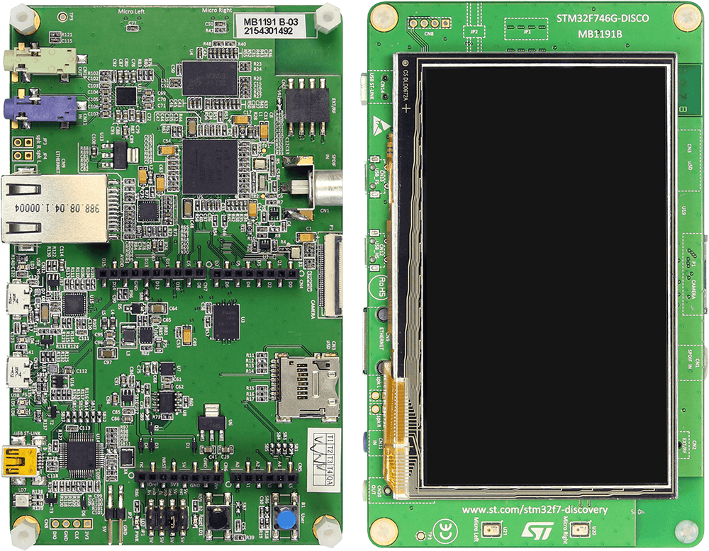 ST STM32F746G-Discovery | SEGGER - The Embedded Experts