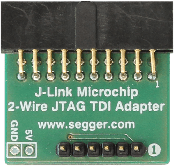 J-Link Microchip 2 Wire JTAG TDI Adapter