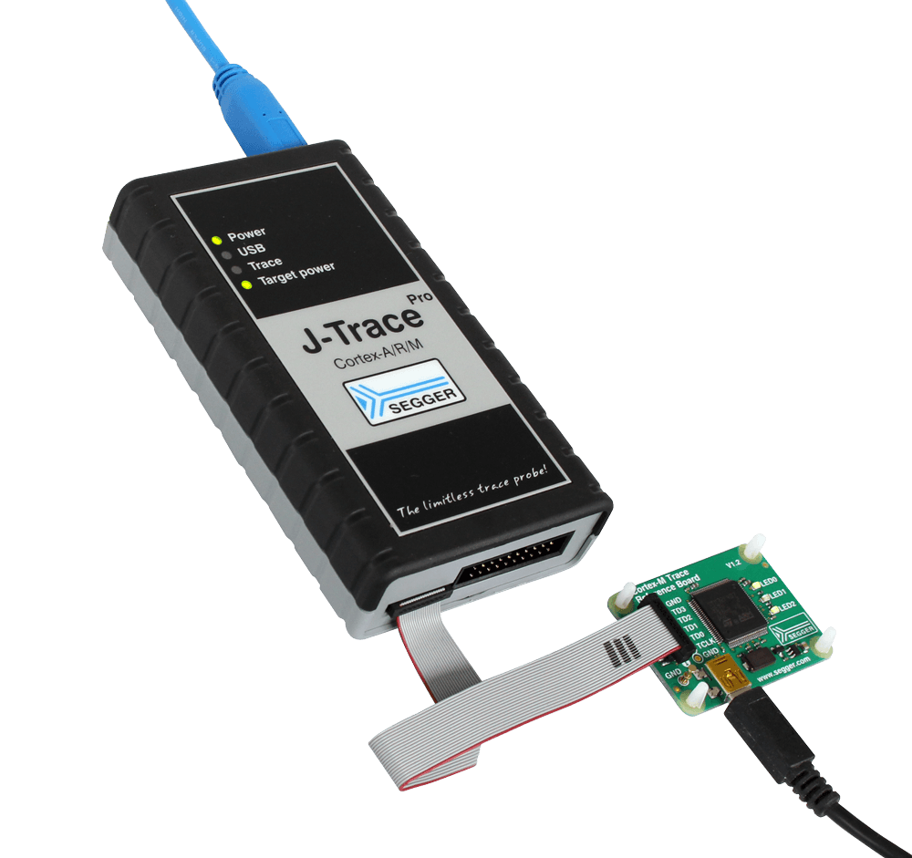 J-Trace Streaming Trace Probes | SEGGER - The Embedded Experts